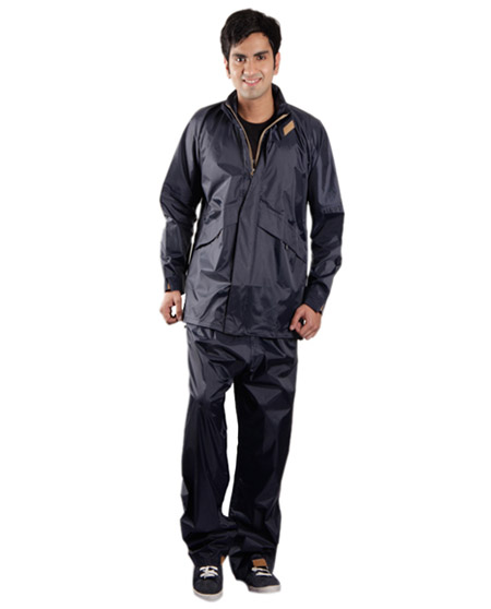 Raincoat for Men - Assorted Color | Waterproof Nylon Royal Suit Rainwear | Versalis