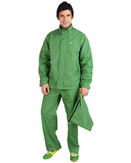 Raincoat for Men - Assorted Color | Nylon Polyester Bravo Suit Rainwear | Versalis