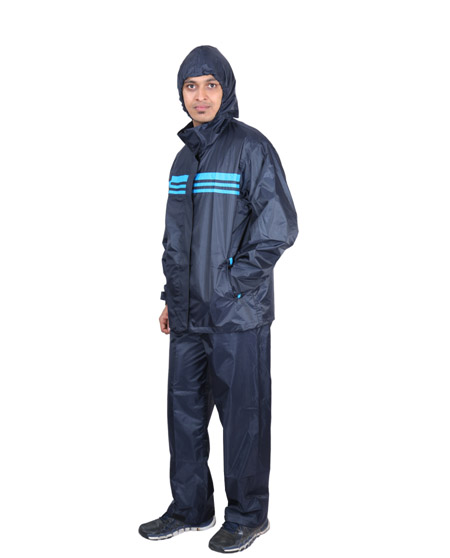 Raincoat for Men - Assorted Color | Polyester Craft Suit Rainwear | Versalis